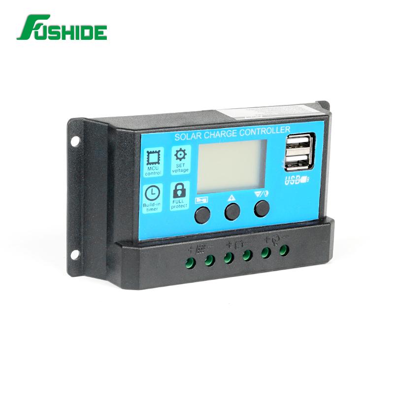 Solarenergie 20a 12v/24v Solar Panel Charge Controller Battery Regulator Safe Protection Yy