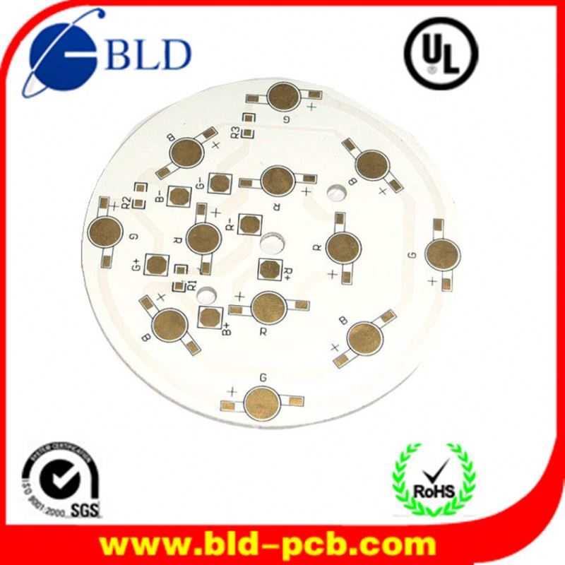 Mutli-layer rigid led on aluminum pcbpcb