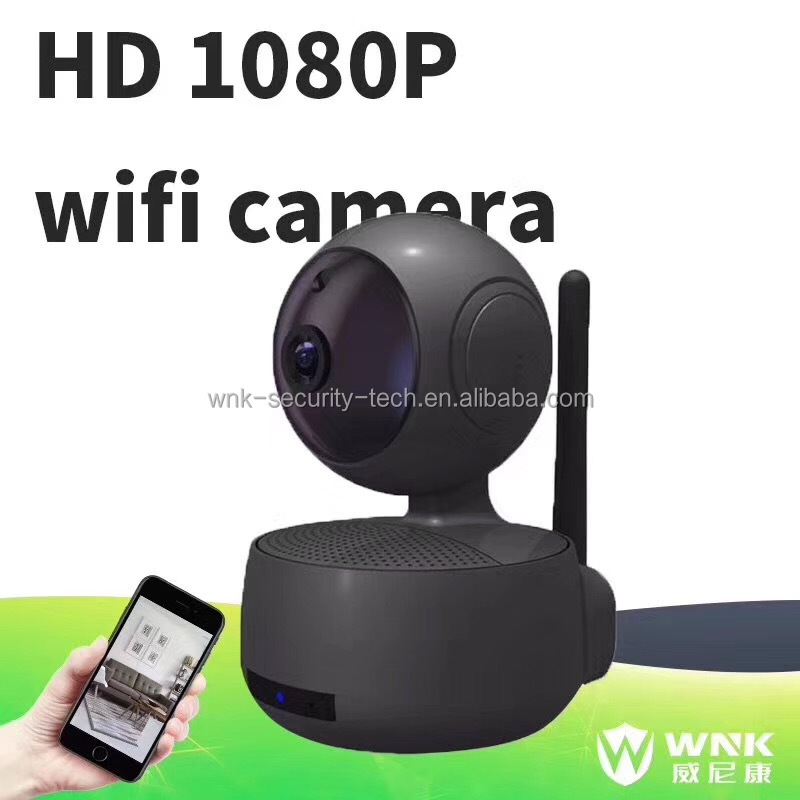 h.265 HD 1080P Monitor wireless home ptz wifi camera support p2p security alarm system