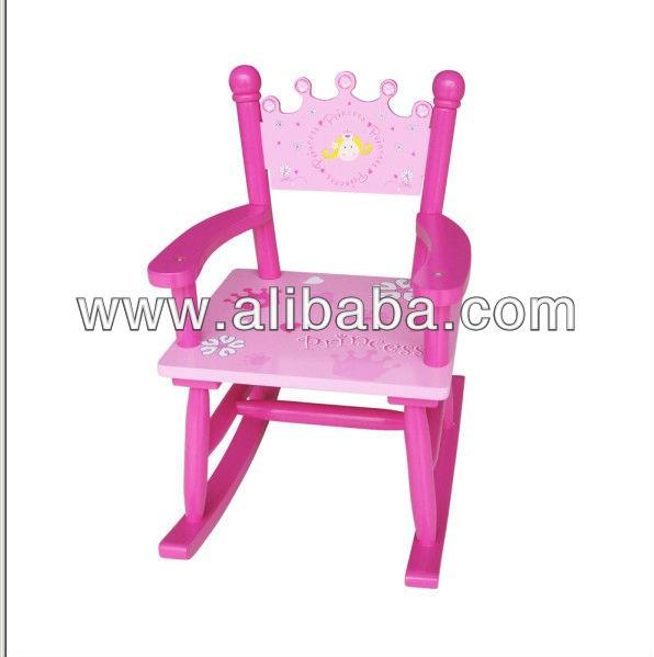 Ni os de madera mecedora sillas para ni os identificaci n for Sillas para chicos