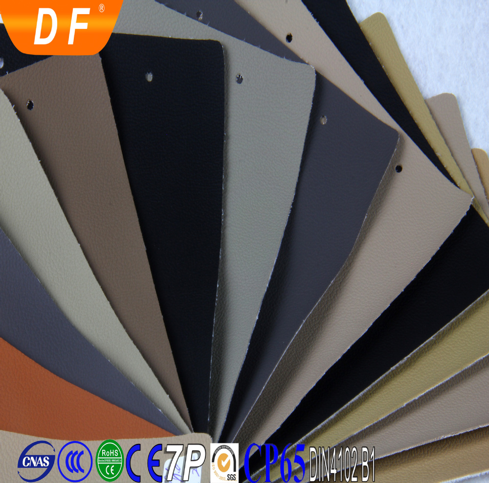 Leather Fabric For Car Seat Pvc Rexine Leather Material For ...