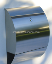 cheapest export to UK new design stainless steel mail box ,cheap letter box,cheap mailbox