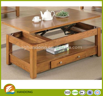 Popular Solid Pine Wood Black Dark Lift Top Coffee Table Wooden Coffee Table With Drawers Buy