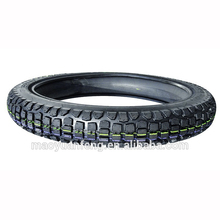 china supplier high quality cross country motorcycle tire 3.00-18 with inner tube or tubeless