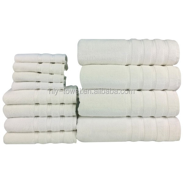 Hilton hotel bath towel 100 cotton used hotel towels