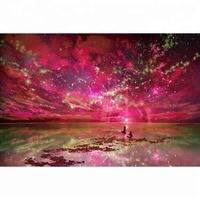 40*30cm Starry night natural scenery DIY 5D Diamond painting/Art Diamond Painting Picture