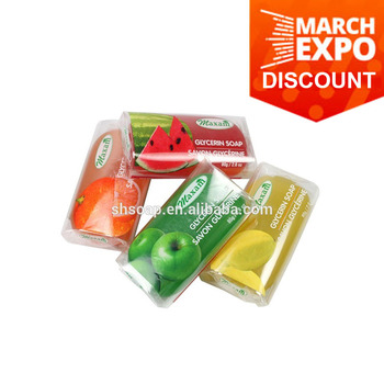 2018 Hot Sale Cheapest MAXAM Brand Fruit Hand made Soap