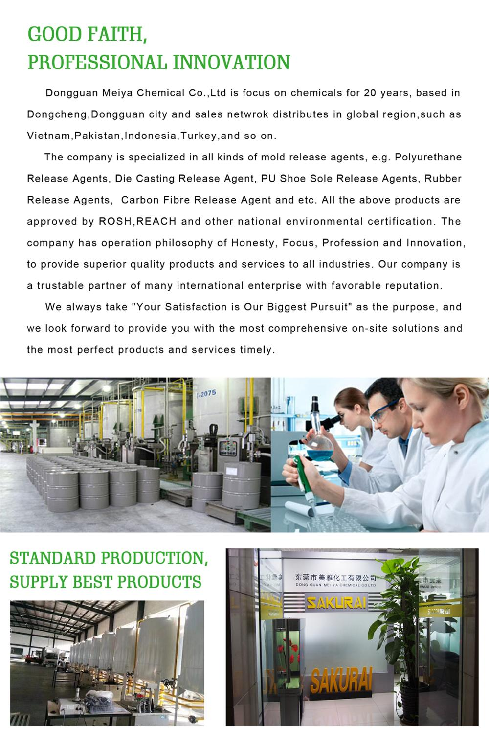 Water Based Mould Release Agent for Concrete Formwork