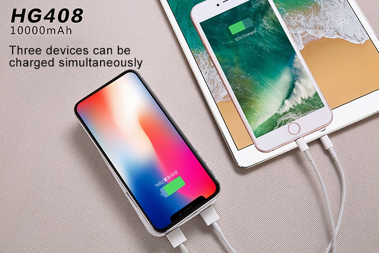 2018 Hot Sale 2 in 1 Powerbank and Wireless Charger 5000mAh for Iphone