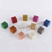 Neo cubo magnetico 5mm 216 magnetico <span class=keywords><strong>magnete</strong></span> al neodimio sfera