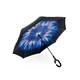 Folding Double Layer Inverted Windproof Rain Reverse Umbrella