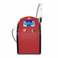 2017 Newest professional tattoo removal picosecond laser 1064nm 532nm 755nm nd yag laser pulsed beauty machine