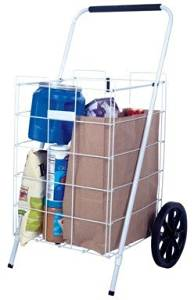 "Apex Shopping Cart Plastic Rubber 12.8"",15.5"",17.5"",21.3"",21.5"",21.5"" H X 15.5"" W X 12.8"" D,35.6"",35"