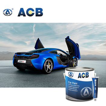 ACB auto paint supply white automotive paint body filler