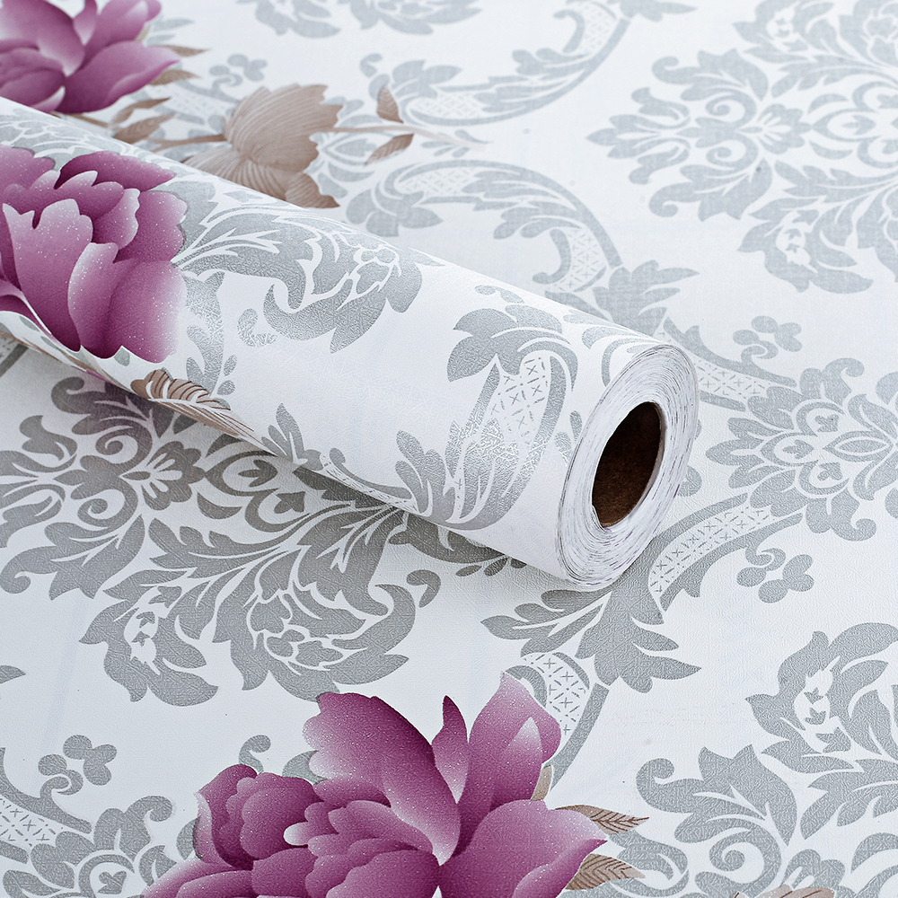 Flower Vintage Floral Wallpaper Roll For Sale View Flower Vintage