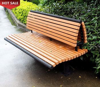 rustic modern outdoor garden bench | Modern Waterproof Outdoor Public Yard Rustic Garden ...