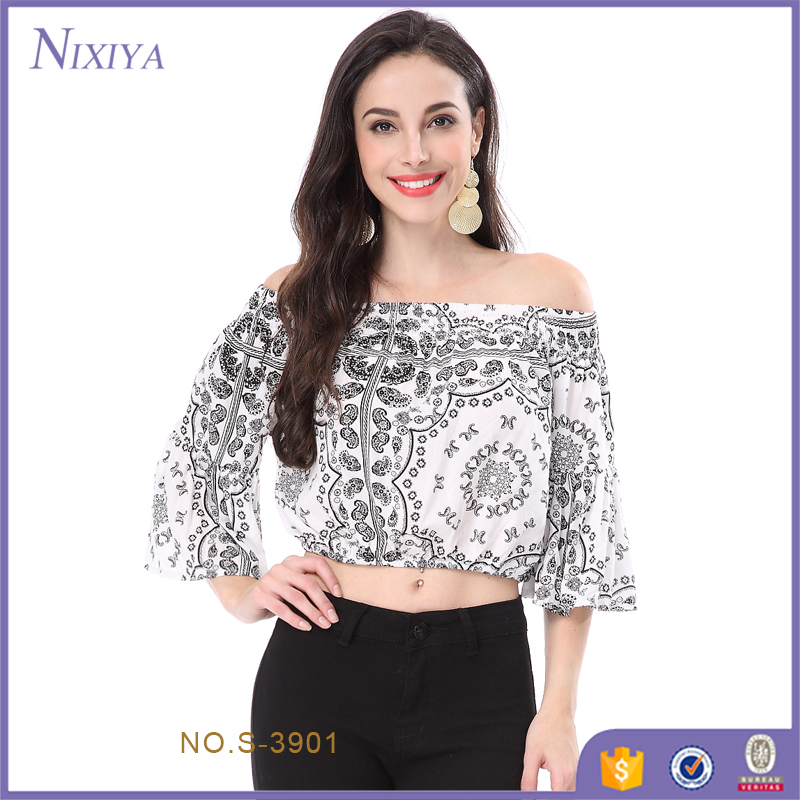 2017 Latest Fashion Top Design Printed Rayon Summer Tops For Women 2017    Buy 2017 Latest Fashion Top Design Fashion Top Tops For Women 2017 Product  on. 2017 Latest Fashion Top Design Printed Rayon Summer Tops For Women