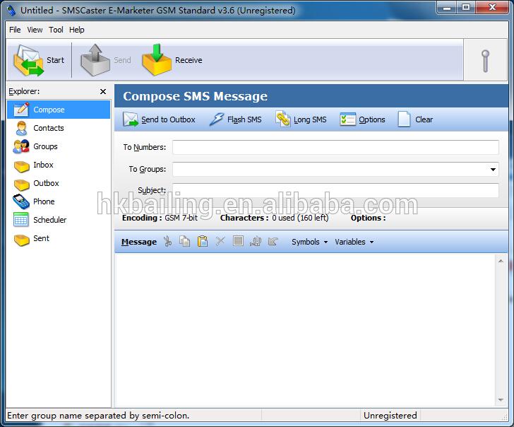 16 SIM Card Wireless USB SMS Sabbiatura macchina 3g Pool di Modem con Modulo UG96 Bulk SMS Modem GSM
