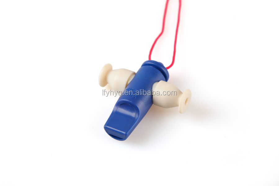Music cheap plastic  instrument colorful samba whistle
