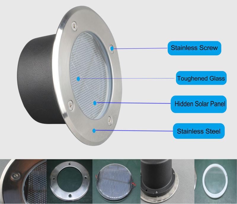 Led Inground Led Cube Light Waterproof Solar Light Reflector Esl ...