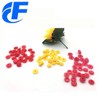 13113 Kam Custom Color plastic snap fasteners for PVC bag