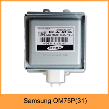 Samsung Magnetron Om75p 31 For Microwave Oven Parts