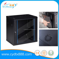 Wall mounted network computer cabinet rack for networking 4u-18u