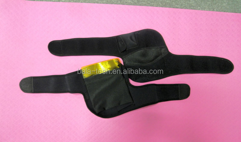 Neoprene heating knee pads for arthritis