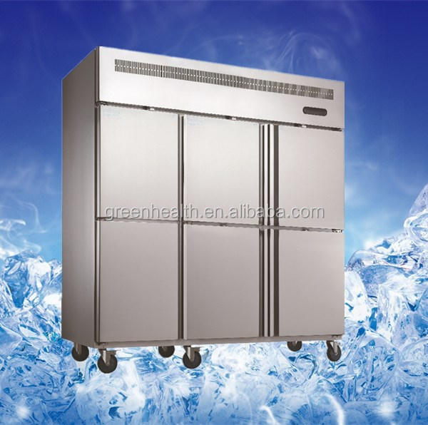 Green&health Kitchen freezer with single compressor and dual-temp 1600L OEM/ODM