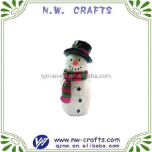 Mini resin craft,snowman figurine