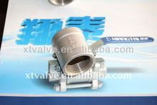 Stainless Steel Socket Banded, Female Thread End, SS304