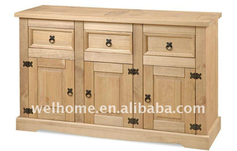 mexicaine corona buffet mc124 meubles en bois id de. Black Bedroom Furniture Sets. Home Design Ideas