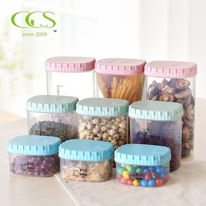 Great for Flour, Sugar & More BPA Free Dispenser FDA Certificate Rice Husk Cereal Storage Container Airtight Dry Food Keepers
