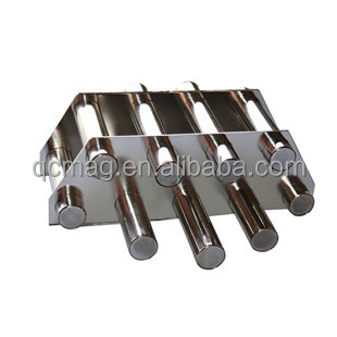 shanghai strong magnets Ndfeb Magnet Manufacture Zinc Coated D10x25mm N52 Magnetic Bar