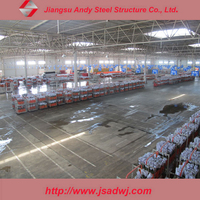 prefabricated light structure steel refinery sugar plant made in china