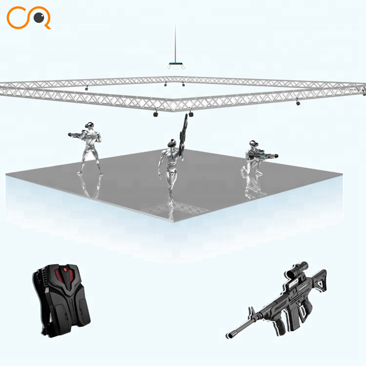 New designed vr large space with indoor shooting <strong>games</strong> 4,6,8,10,20 players vr backpacks