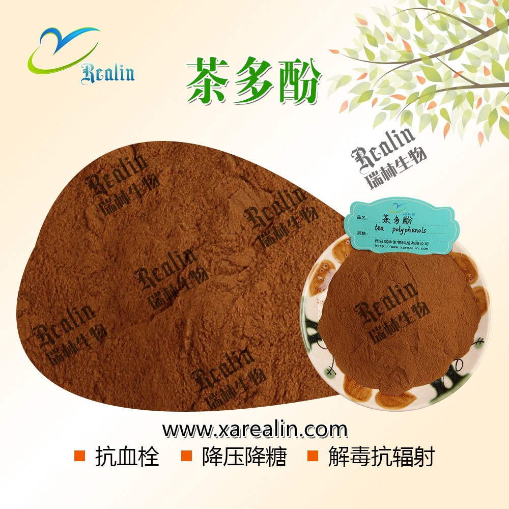 Slimming Ingredient Green Tea Extract weight losse 98% Tea polyphenols