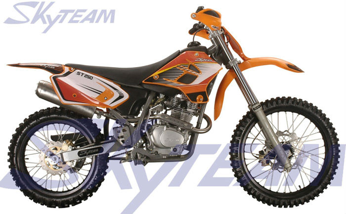 skyteam 250cc 4 temps enduro dirt off road moto cross moto id de produit 500000124280 french. Black Bedroom Furniture Sets. Home Design Ideas