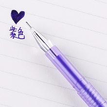 36 шт. Корейская канцелярская цветная дрель, 12 цветов, каменная цветная нейтральная ручка, обучающая Ручка для воды, оптовая продажа гелевых ...(Китай)