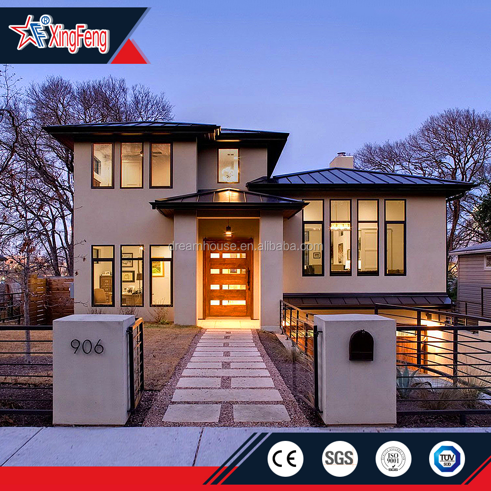 Modular Prefab luxury Multi Storey prefabricated Frame Living Villa