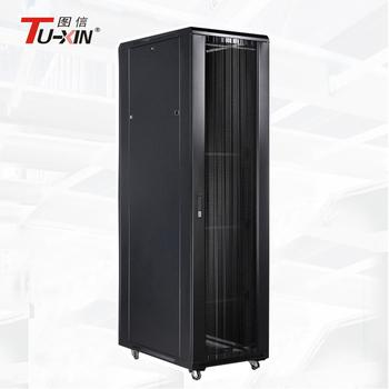 19 Inch Steel Server Rack 42u Floor Stand Network Cabinet With ...