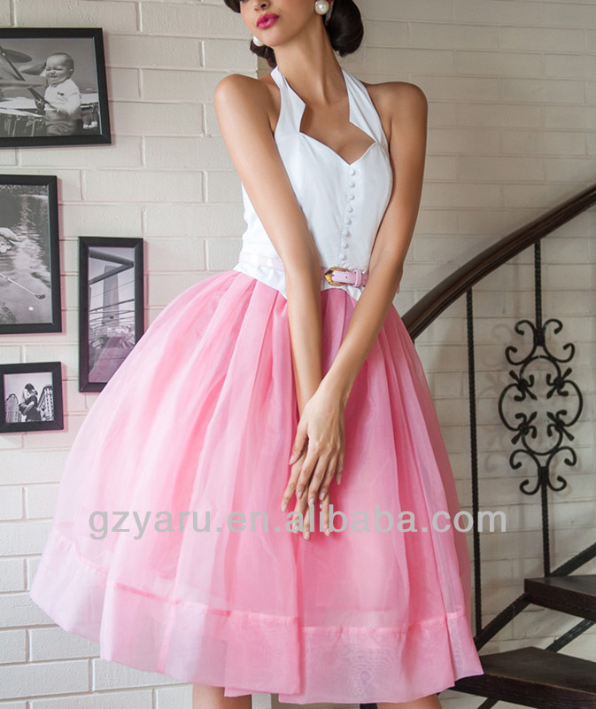 fashion red pink black quinceanera dresses