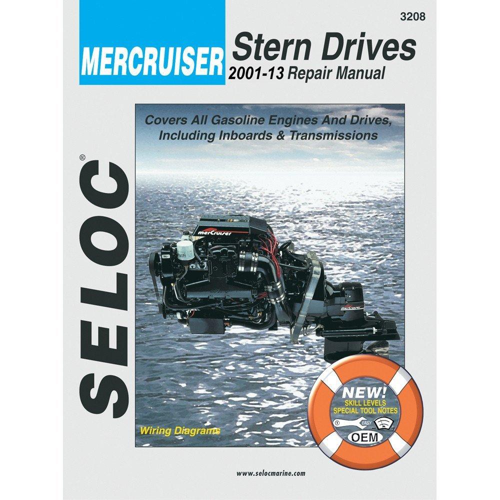 Get Quotations · Seloc Service Manual - Mercruiser Stern Drive - 2001-2013