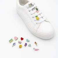 Nickle Free Rhinestone Crystal Decorative Shoelace Charms Pins Clips