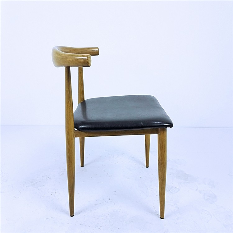 Wholesale Cheap Preety Restaurant Metal Chair With Cow
