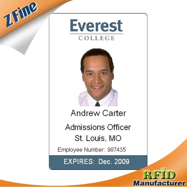 Non- Standard Personality Photo Id Card/office Staff Id Photo Card ...