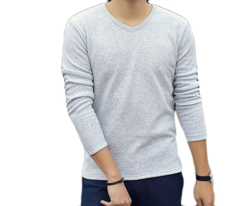 Nanquan Men Fashion Stand Collar Cardigan Outwear Button Down Coat Sweatshirt