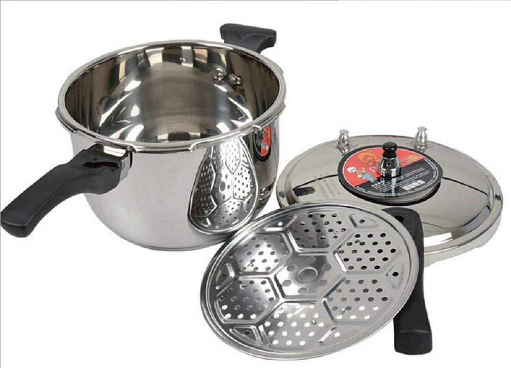 Pressure cooker/pressure cooker/thickening complex bottom stainless steel / 304 pressure cooker/safety pressure cooker/pressure cooker Induction Cooker gas universal