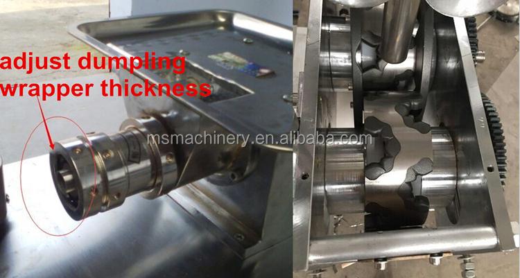 Nhà hàng sử dụng dumpling empanada máy để bán