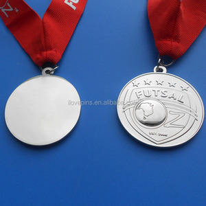 silver gold bronze metal futsal sports competition champions award medal